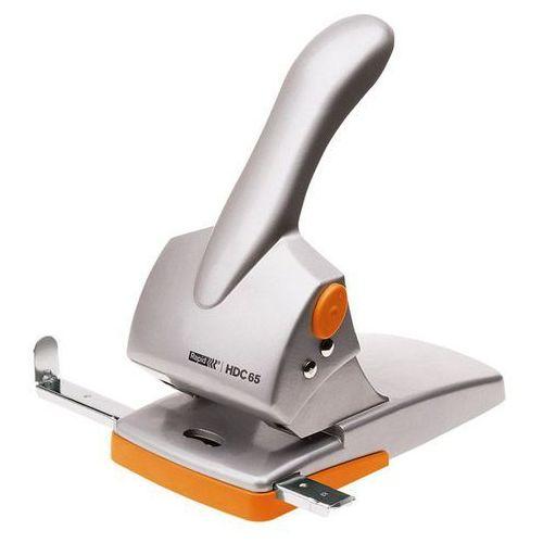 Dziurkacz Rapid Fashion HDC65, 20922603 - srebrno-pomarańczowy