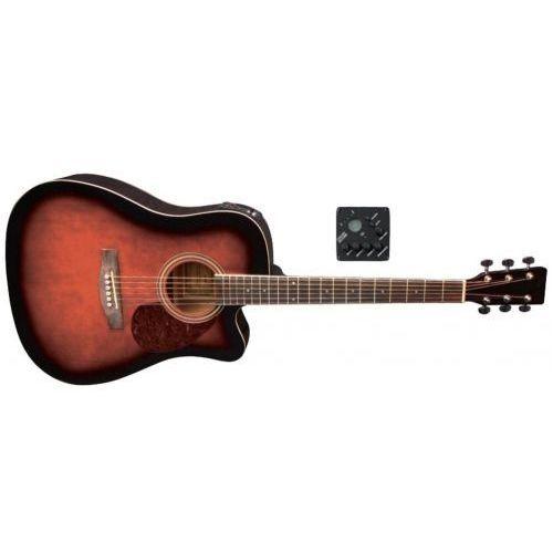 Gewa (ps501322) gitary elektroakustyczne vgs d-10 ce violinburst