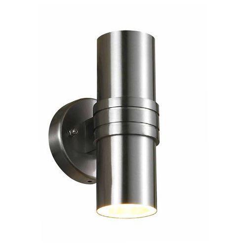Kinkiet Italux Tubular 202E-SS lampa ścienna 2x35W GU10 IP44 satynowy