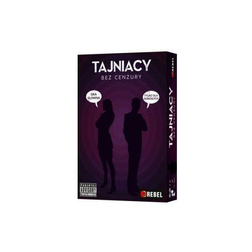 Rebel Tajniacy: bez cenzury. gra planszowa
