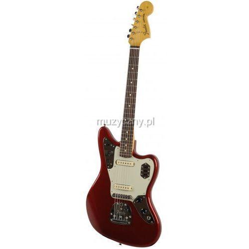 Fender Classic Player Jaguar Special gitara elektryczna Candy Apple Red, podstrunnica palisandrowa