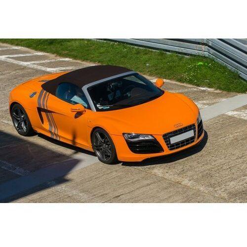 Jazda audi r8 v10: ilość okrążeń - 4, tor - tor łódź, usiądziesz jako - kierowca marki Go racing