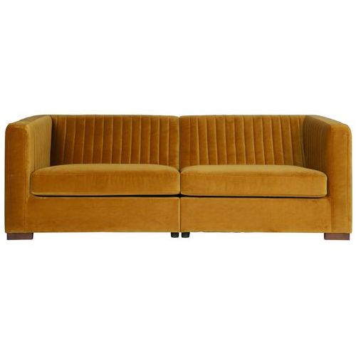 Be pure Sofa nouveau l musztardowa