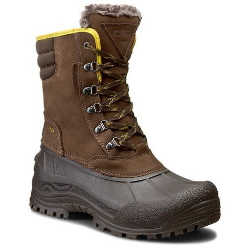 Śniegowce CMP - Kinos Snow Boots Wp 3Q48867 Chocolate Q935, w 4 rozmiarach