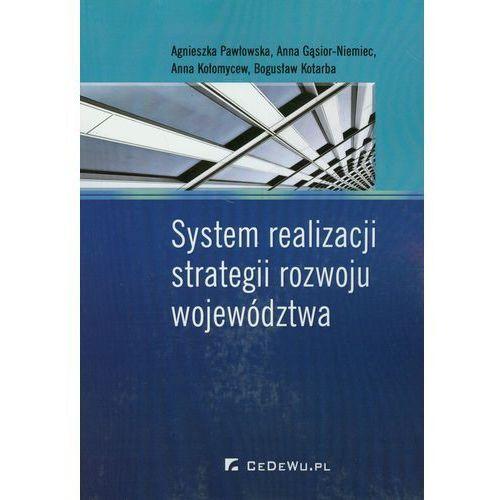 System realizacji strategii rozwoju województwa, oprawa miękka