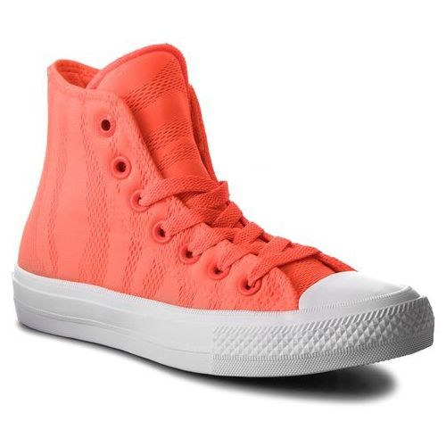 Converse Trampki - ctas ii hi 155492c hyper orange/white/gum