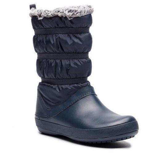 Śniegowce CROCS - Crocband Winter Boot W 205314 Navy, kolor niebieski