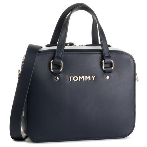 Tommy hilfiger Torebka - th corporate mini trunk aw0aw06820 413