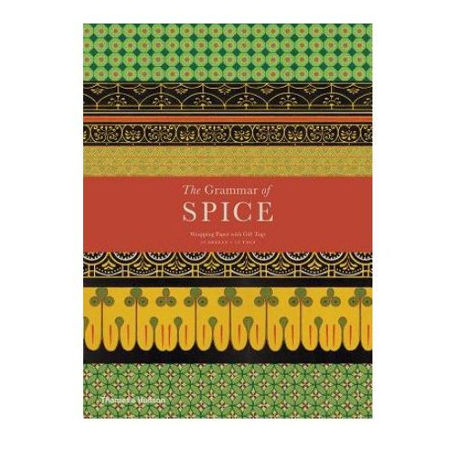 Grammar of Spice: Gift Wrapping Paper Book