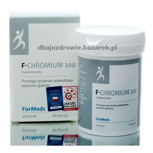 Proszek F- CHROMIUM 200 FORMEDS, CHROM SUPLEMENT DIETY W PROSZKU