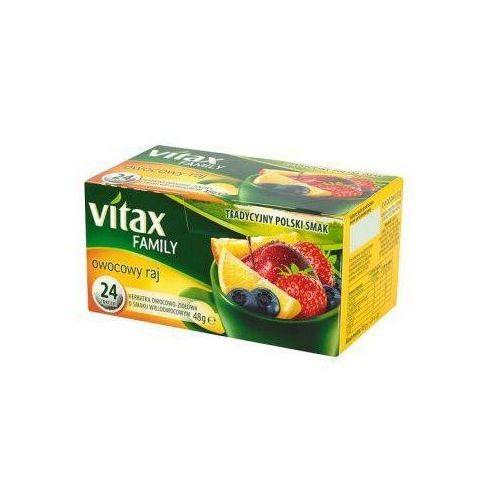 Herbata vitax family owocowy raj (24) (5900175431430)