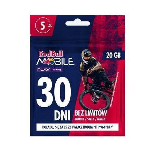 Starter PLAY Red Bull Mobile 20GB/5PLN (5902385920445)