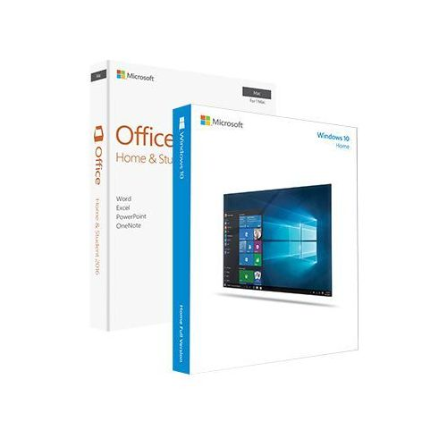 Microsoft Windows 10 home + office 2016 home and student, licencje elektroniczne 32/64 bit