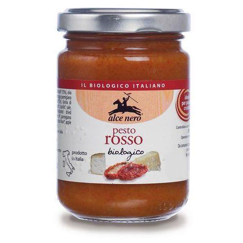 Alce nero Pesto czerwone z suszonych pomidorów bio 6x130g