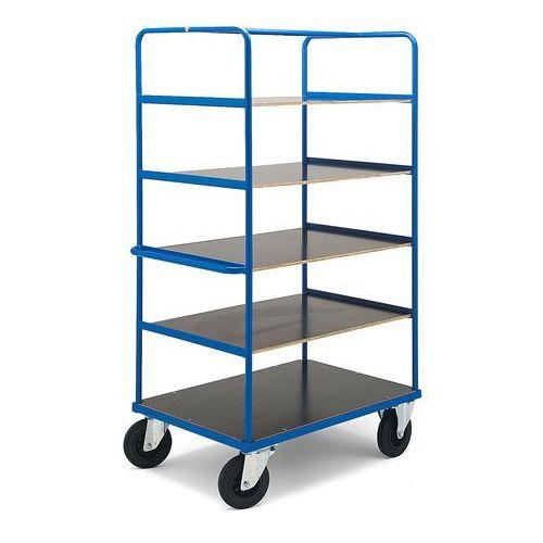 Wózek transportowy bez hamulca - wym. 1800x700x1070 mm