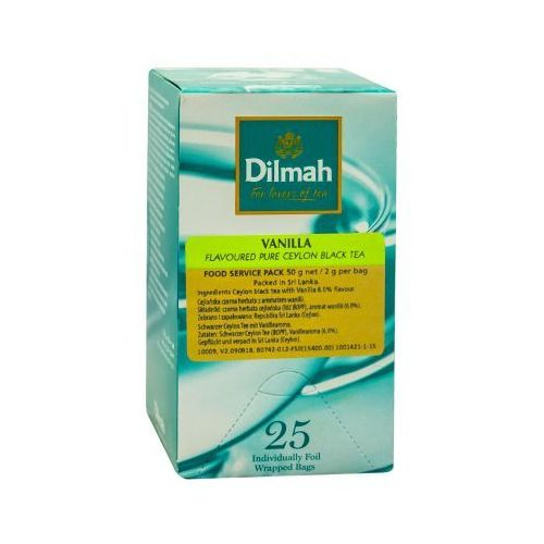 Dilmah Vanilla 25 torebek (9312631833201)