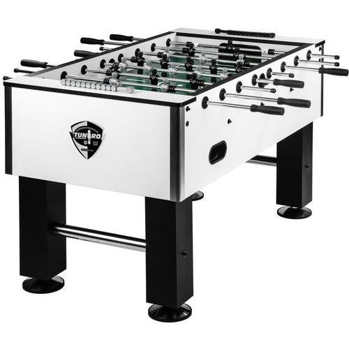 Tuniro ® Profesjonalne białe piłkarzyki stołowe 110 kg - biały