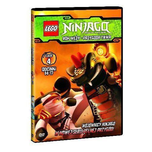 Film lego® ninjago. rok węży - przygoda trwa. część 4 marki Galapagos