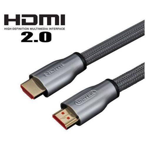 Kabel Unitek Lux HDMI 2.0 1m (Y-C136RGY) Szybka dostawa! Darmowy odbiór w 21 miastach!