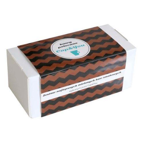 Kawy polecane cup&you – zestaw wyselekcjonowanych kaw aromatyzowanych, 20 smaków po 10g marki Cup&you cup and you