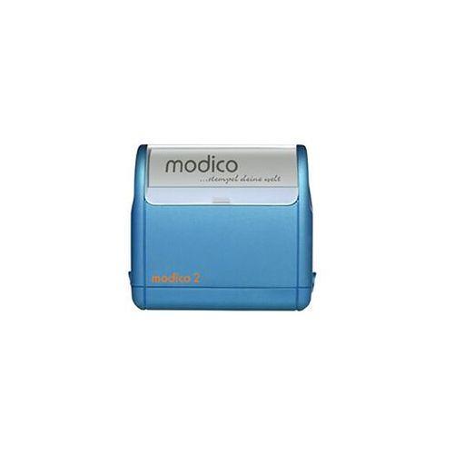 Pieczątka Samotuszujaca Modico 2 niebieska Pieczątka Samotuszujaca Modico 2 niebieska