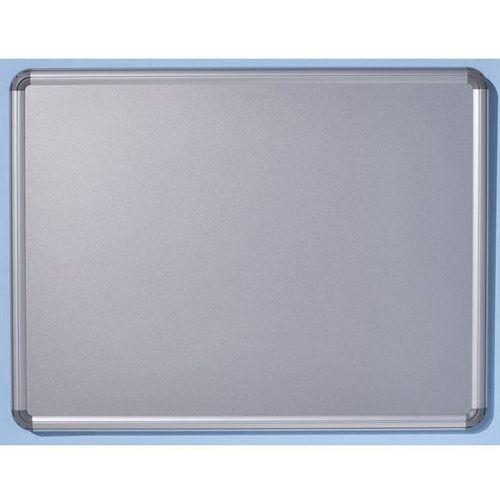 Office akktiv Tablica ścienna design, lakierowanie na kolor srebrny, szer. x wys. 600x450 mm.