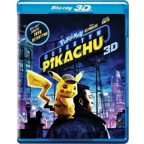 Pokemon detektyw pikachu (2bd 3d) (płyta bluray) marki Rob letterman
