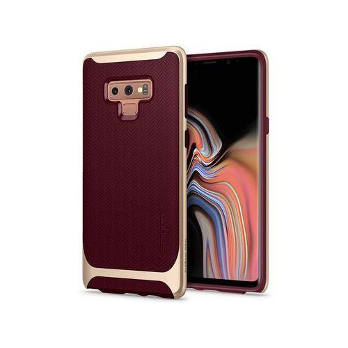 Etui Spigen Neo Hybrid Samsung Galaxy Note 9 Burgundy - Złoty ||Bordowy