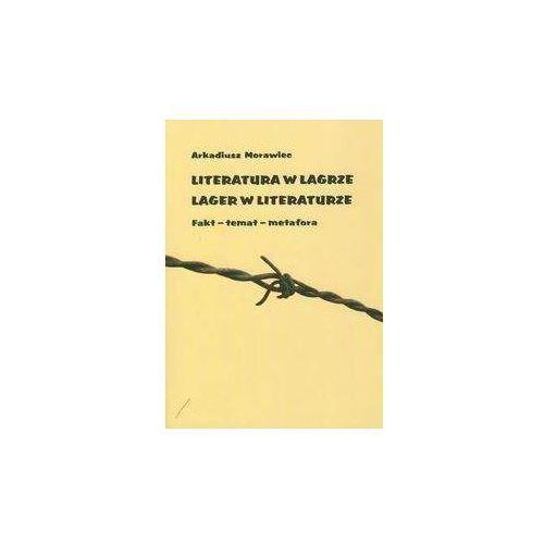 Literatura w Lagrze Lager w literaturze - Wysyłka od 3,99 - porównuj ceny z wysyłką (2009)