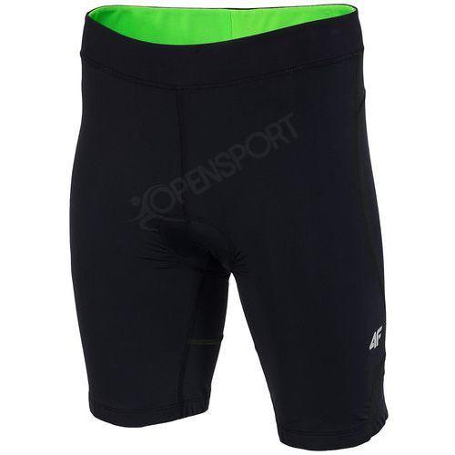 4f Męskie spodnie rowerowe h4l17 rsm001 czarny m