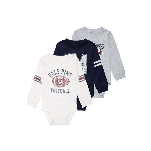 Carter's BOY FOOTBALL ATHELTIC MULTI BABY 3 PACK Body ivy ivory (0190795628364)