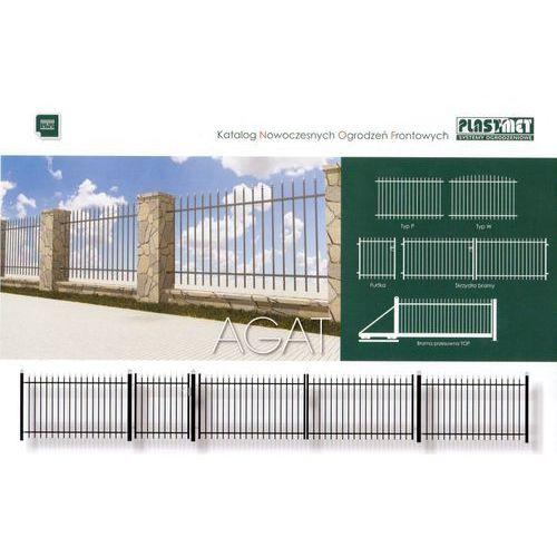 AGAT ogrodzenie frontowe ze sklepu siatkowy.com