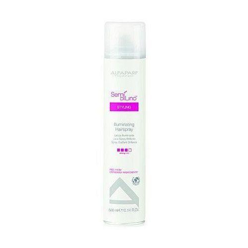Alfaparf semi di lino diamente illuminating hairspray - lakier nabłyszczający 500 ml (8032679467152)