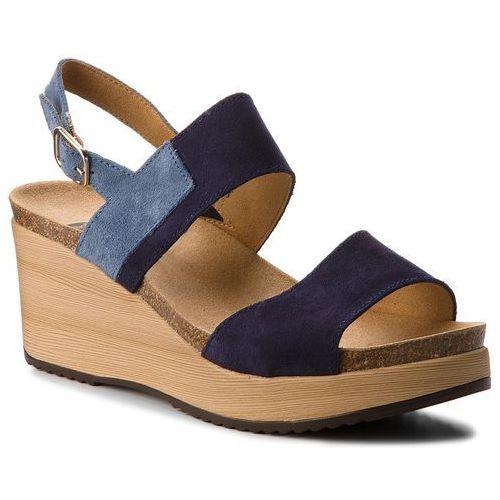 89fac621174b0 Sandały SCHOLL - Elara F27057 1040 370 Navy Blue 320,00 zł wygodne sandały  firmy Scholl. Cholewka w tym kroju to skóra naturalna - zamsz.