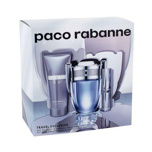Paco rabanne invictus zestaw 100 ml dla mężczyzn