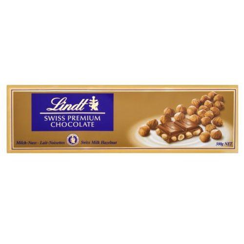 Czekolada Lindt Milk Hazelnut Gold 300g