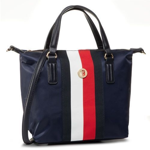 Torebka TOMMY HILFIGER - Poppy Small Tote Corp AW0AW08336 0GY