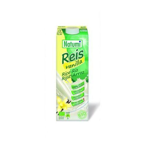 PRZECENA Napój ryżowy waniliowy (bezglutenowy) BIO 1 l Natumi