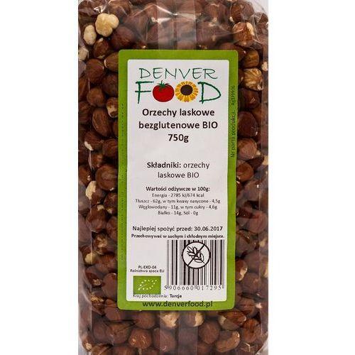 Orzechy Laskowe Bezglutenowe BIO 750 g Denver Food