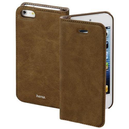 Etui na smartfon guard case booklet do apple iphone 5/5s/se brązowy marki Hama