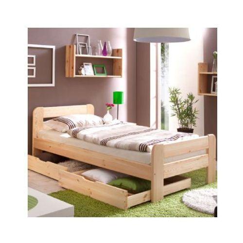 Ticaa łóźko pojedyńcze bert 100 x 200, kolor naturalny marki Ticaa kindermöbel