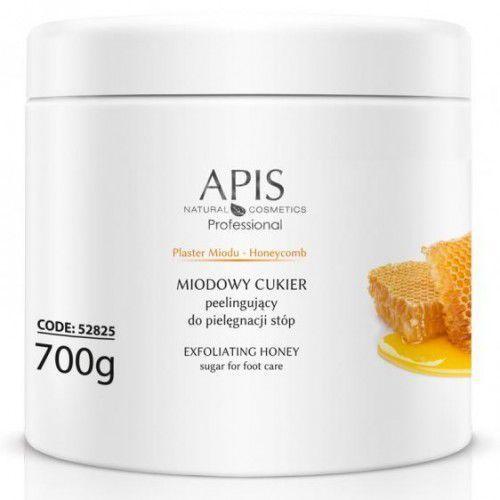 APIS Plaster Miodu Miodowy Cukier Peelingujący Do Stóp 700g (5901810002398)