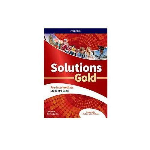 Solutions Gold Pre-Intermediate. Student's Book (9780194912822)
