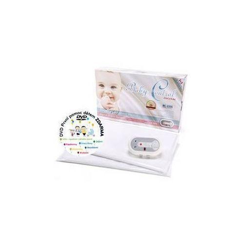 Monitor oddechu digital bc-220i dla bliźniaków biała marki Baby control