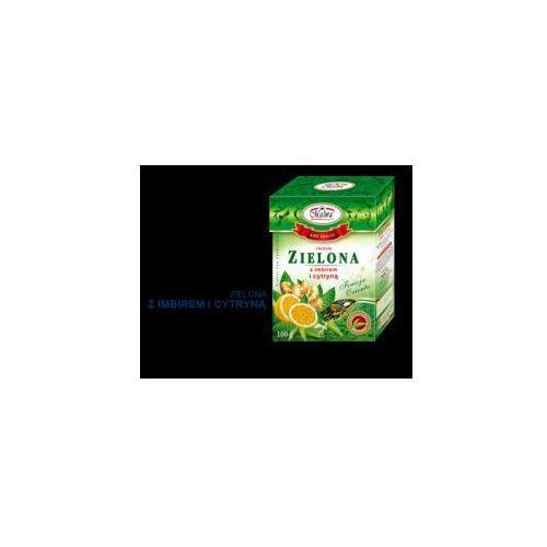Herbata zielona z imbirem i cytryną 100 g Malwa (5902781001939)