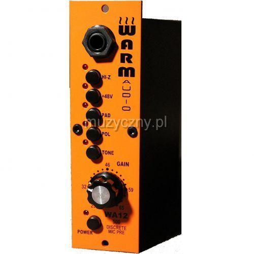 Warm Audio WA12 przedwzmacniacz, format 500