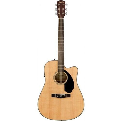 cd-60sce dreadnought natural wn gitara elektroakustyczna marki Fender