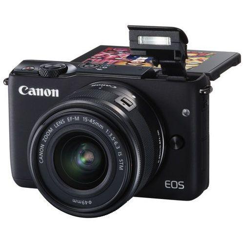 Canon Aparat eos m100 czarny + ef-m 15-45mm is stm + irista 50gb edycja limitowana (8714574654539)