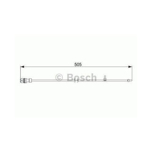 Styk ostrzegwaczy, zużycie okładzin hamulcowych 1 987 474 593 marki Bosch