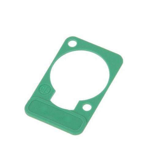 dss 5 szyld do opisu złącz tablicowych typu ″d″ (zielony) marki Neutrik